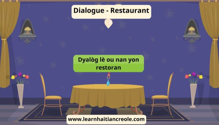 dialogue in haitian creole