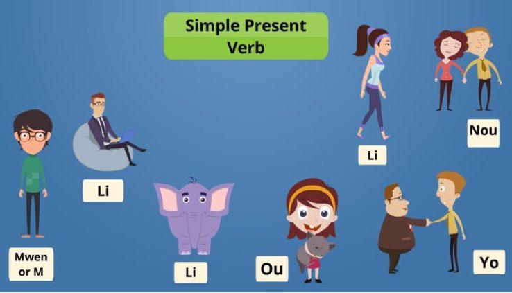 verbs in haitian creole