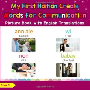 Bilingual Early Learning & Easy Teaching Haitian Creole Books for Kids