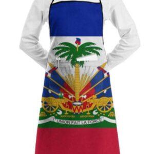 haitian flag apron